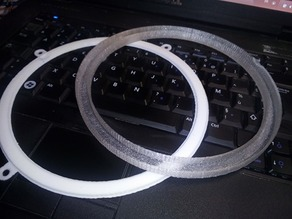 Led rings daylights for renault 4L with PCB box