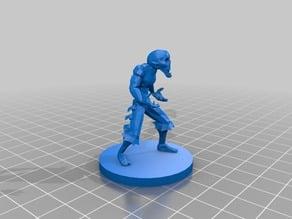 Evil Druid D&D/Pathfinder Miniature
