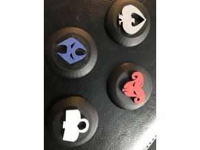 Malifaux Suit Tokens