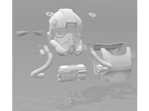 Tie Pilot Armour / Chest Box