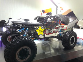 Axial wraith Mad Max style