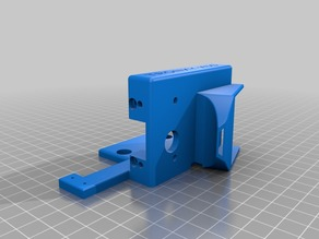 Tronxy X5S Flexion Single HT Extruder Mount and Fan Shroud