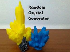 Random Crystal Generator