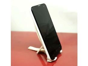 Adjustable stand phone