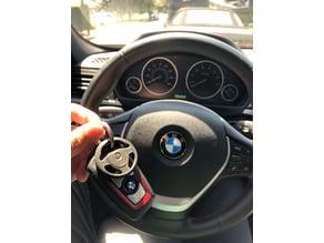 BMW Steering Wheel Keychain