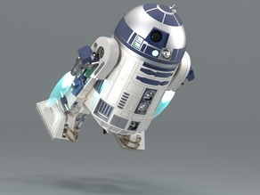 R2D2 - Correct dimensions + Configurator for accessories created in PARTsolutions