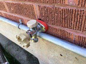 Sillcock, outdoor tap or outdoor faucet spacer