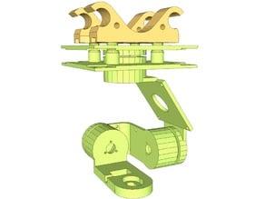 Mobius 3 axis gimbal