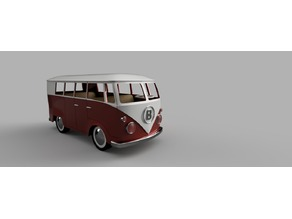 VW caravan for Lego friends characters