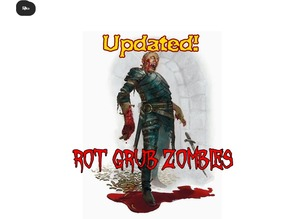 Rot Grub Zombies for Tabletop Gaming