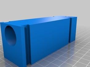 Holder for cheap flexible shaft for Dremel table saw