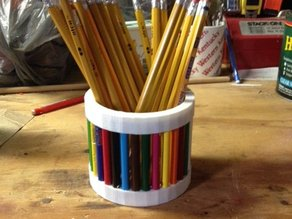Colored Pencil Cup