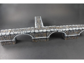 OpenLOCK Stone Bridge (Set 9) Narrow Intersections