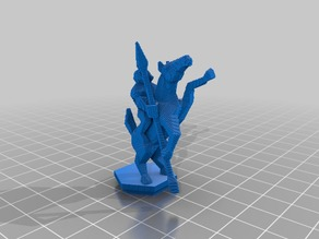 (3D Slash) KnightOnHorse