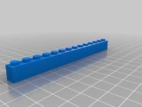 lego brick 1x14