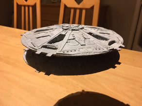 Cylon Basestar (from Battlestar Galactica TOS)