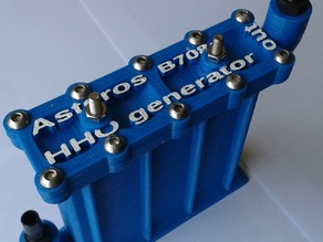 Asteros B708a 3d printed Hydrogen Generator