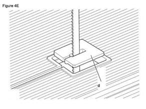 DeWalt bandsaw Dw 738 insert