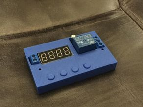 RTC timer relay