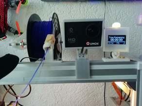 Camera Mount for 3D printer / CNC Laser