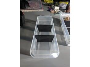 Parts cabinet divider for 60 drawer mastercraft