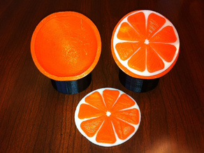 Hollow Orange and stand