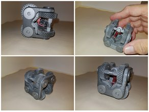 Fidget cube - infernal machine -