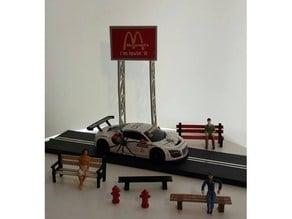 1:32 slot car assesories