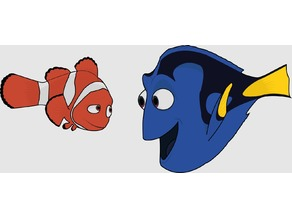 Nemo and Dory - Pixar