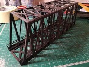 HO Truss Bridge - 28cm x 7cm
