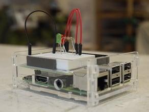 Open Top Raspberry Pi model B+ or Pi2 model B case