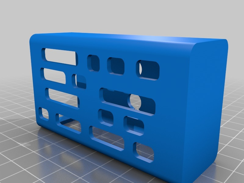 Dotbox 75W protective case by edzIII - Thingiverse