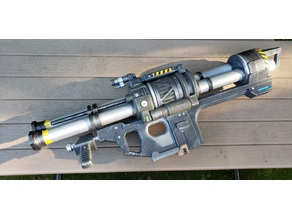 Halo Reach Rocket Launcher Sliced For Large Printers
