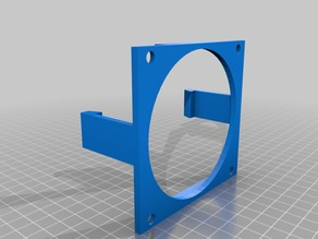 90mm Toolless Case Fan Bracket