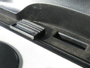 Thule licence plate clip
