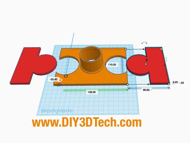 K40 eBay Laser Fume Vent by DIY3DTech - Thingiverse