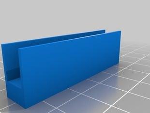 Laird's Customizable Replicator Print Bed Adjuster