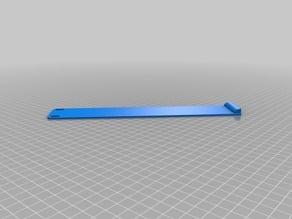 1U blank panel for 19 inch rack
