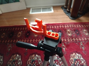 Offset Iphone Tripod Mount with threads