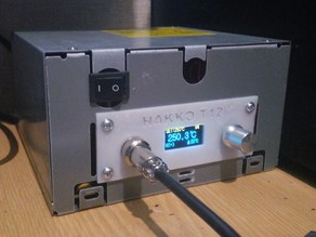 Hakko T12 AT/ATX version front (STM32 and simple version)