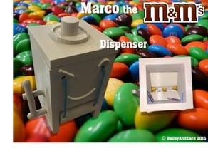 Marco the M&M Dispenser