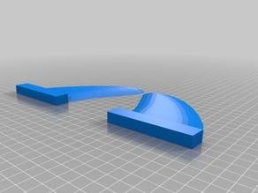 Nsp surf fins (side fins for 3 fin system)(old nsp system)