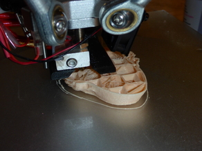 GEEETECH G2 G2S delta printer 40mm fan support for filament cooler