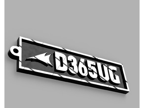 D365UG - Dynamics 365 User Group Tag / Keychain