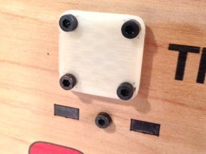 Thingomatic rod end plates