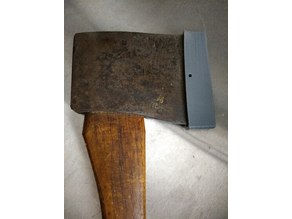 Minimalist Axe Sheath for a 116 mm Blade