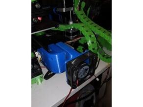 Ender 3 Y stepper cooling mount for 60mm vent