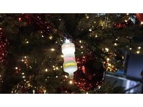 Resistor Christmas Tree Ornament