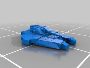 Hovertank Miniature