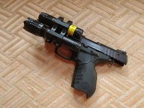 Ruger SR22 bracket for BSA Laser & Light TWLLGCP